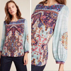 NWT Anthropologie Prudence Blouse XS